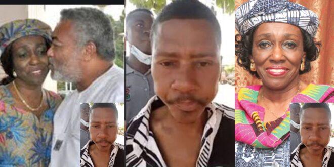 Rawling's alleged 3rd child reveals Nana Konadu Agyeman wanted to kill him - Video 1