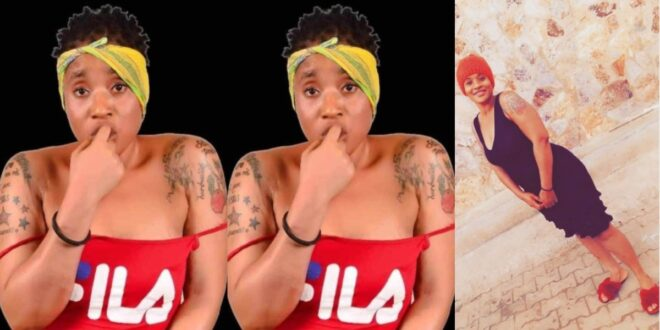 Watch the N@k3t video of Ama Broni on stage before she died - Video 1