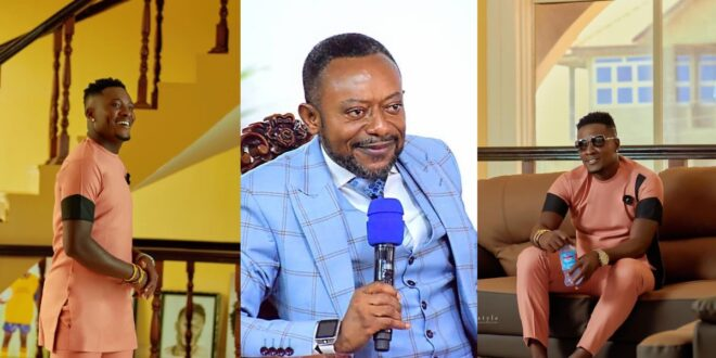 Owusu Bempah replies Asamoah Gyan for saying People should not give their money to pastors. 1