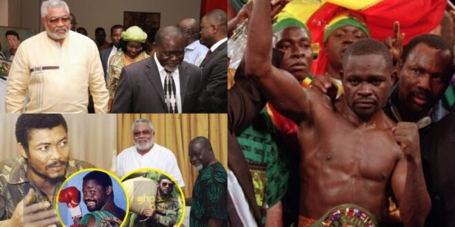 """""""Rawlings use to sweep my training room and give me food""""- Azumah Nelson (video) 1"""