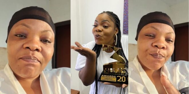Gospel artist Celestine Donkor hailed for showing her raw face without makeups online (video) 1