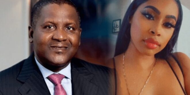Side-Chick of Dangote drops more secrets once again 1