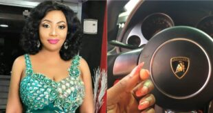 Diamond Appiah flaunts new Lamborghini in latest photos+ Video 5
