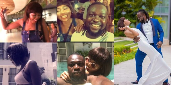 Eddie Nartey shares last video with his beautiful wife - Fans tears up 1