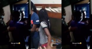 Felicia, a Legon student goes into hiding after boys storm her hall room after she said this (video) 7