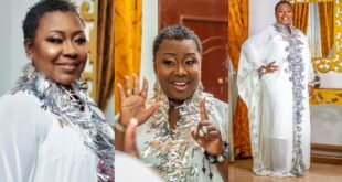Gifty Anti releases stunning pictures to celebrate her 51st birthday. (photos) 14