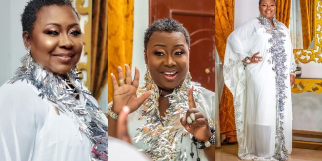 Gifty Anti releases stunning pictures to celebrate her 51st birthday. (photos) 1