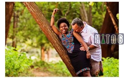 ' i was 20 years old and he was 50 when we married, it's been 7 years now'- Lady narrates her she met her old husband. 5