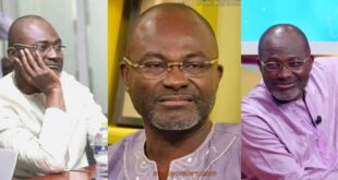 Gossip: Kennedy Agyapong runs from home at 4am to escape death after bragging 17