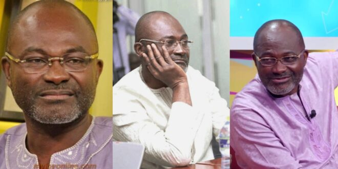 """""""I will be waiting for my killers today""""- Kennedy Agyapong speaks on death threats he received. 1"""