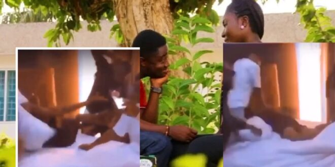 Wicked boyfriend and his friends be@ts lady with their belts after  she was caught cheating (video) 1