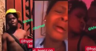 SHS girl cries after her boyfriend ch0pped and dumbed her like trash (video) 21