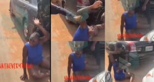 Slay Queen beaten and str!pped for stealing iPhone 12 - Video 4