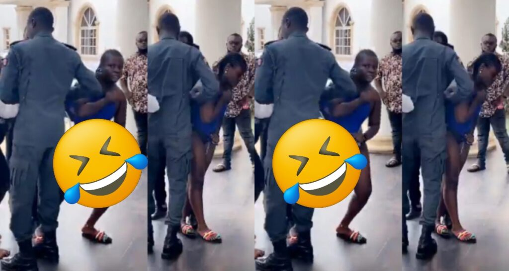 Angry wife catches Husband and side-chick having fun in a hotel see what she did (video) 2