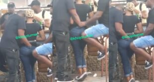 Watch how 2 guys were seen f!ngering a lady in public (video) 3