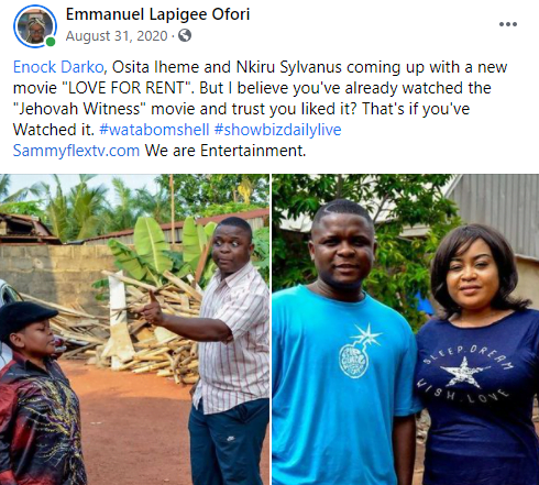 """You don't deserve the support of Ghanaians""- Kwame Dadzie blasts Enoch Darko. 8"