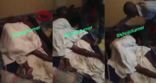 Woman cries in pa!n after she and her partner get stuck cheating on her husband (video) 11