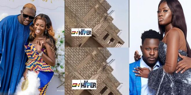 Medikal and Fella displays their soon to be completed huge mansion in a new Video 1