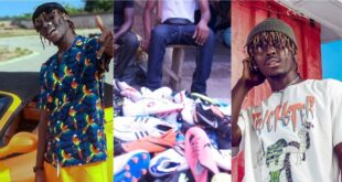 'Kofi mole used to sell second-hand clothes at Kantamanto'- Joey B shares an inspiring story about the young rapper 29