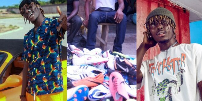 'Kofi mole used to sell second-hand clothes at Kantamanto'- Joey B shares an inspiring story about the young rapper 1