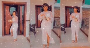Nana Ama Mcbrown flaunts her luxurious mansion in a new video. 6