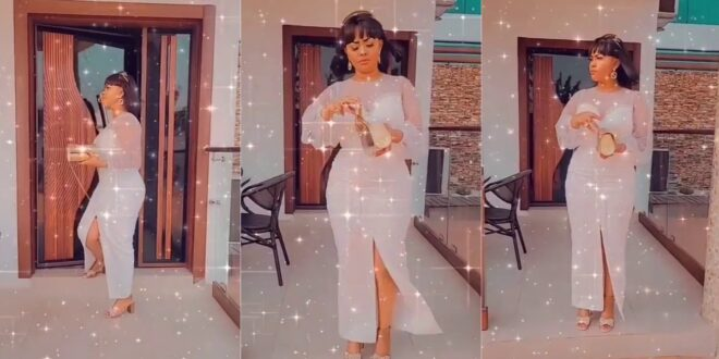 Nana Ama Mcbrown flaunts her luxurious mansion in a new video. 1