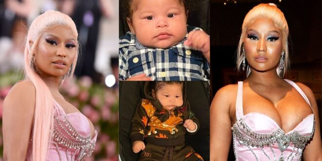 Check out more photos of the adorable baby of Nicki Minaj 1