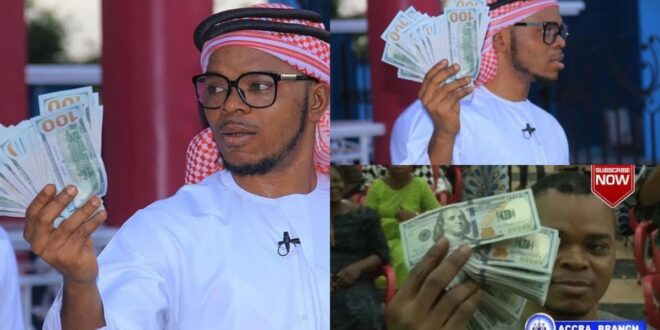 """""""Jesus is delaying his second coming so we should chill and make money""""- Obinim (video) 1"""