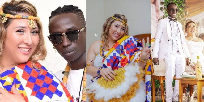 Patapaa's wife discloses why she still loves him despite people saying he is ugly 1