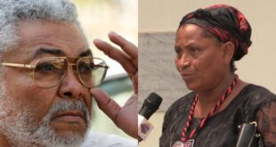 """I am the first daughter of J.J Rawlings""- 52 years old lady claims. (video) 11"