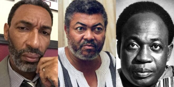 """""""JJ Rawlings is a very wicked man, he's not a good person,"""" Kwame Nkrumah's youngest son says. 1"""