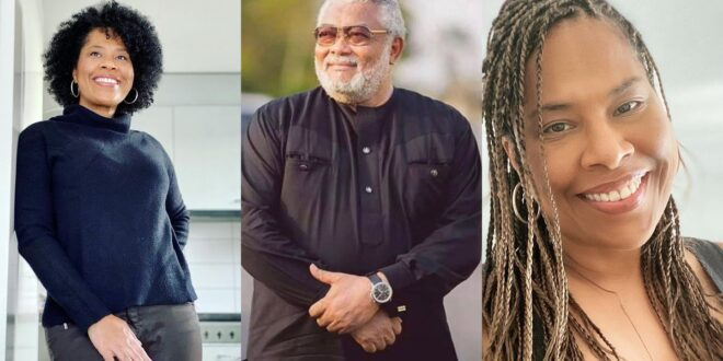 Rawlings Sidechic speaks, Thanks Ghanaians after his Burial. 1