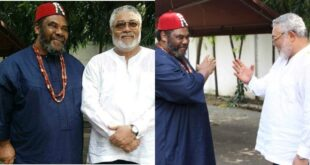 Nigerian Actor Pete Edochie shares an emotional message to bid his brother Rawlings Goodbye (video) 7