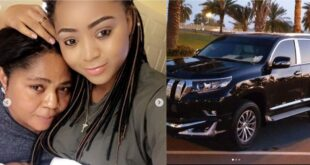 Regina Daniels Gifts Her Mum Brand New Toyota Prado on Her Birthday - Video+Photos 55