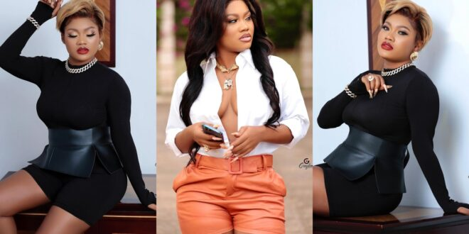Lil Win's girlfriend Sandra ababio shares sexy and amazing pictures on social media. 1