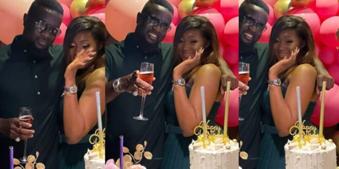 Sarkodie surprises beautiful Female Fan on Her Birthday - Video 1