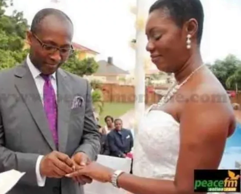 Throwback pictures of Madam Ursula Owusu when she was getting married (photos) 8