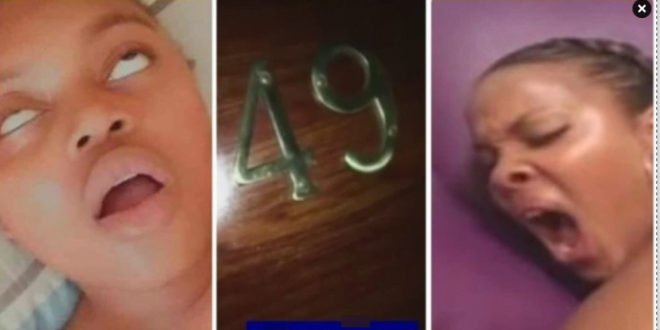 Lady begs for mercy as a hard guy chops her mercilessly in a hotel room (video) 1