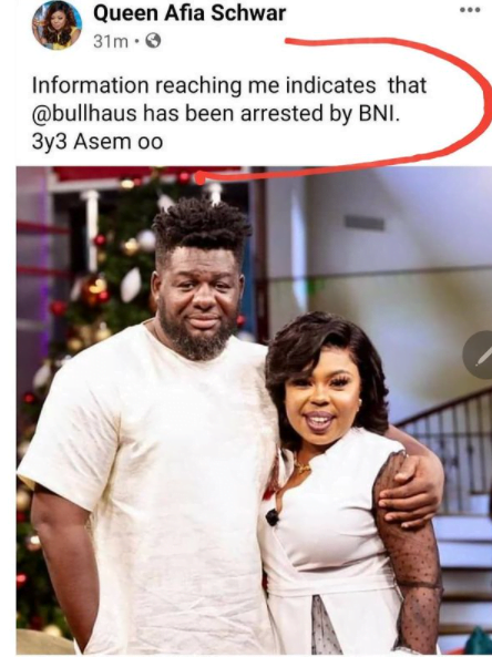 Bulldog arrested by BNI for threatening Prez. Nana Addo on UTV 2