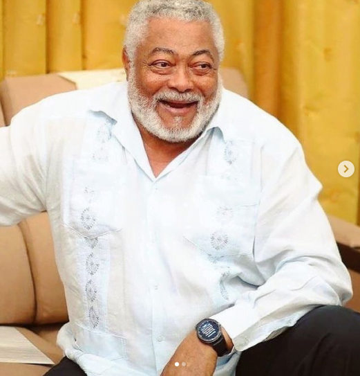 Naa Agyeman composes a beautiful tribute song in memory of J.J Rawlings