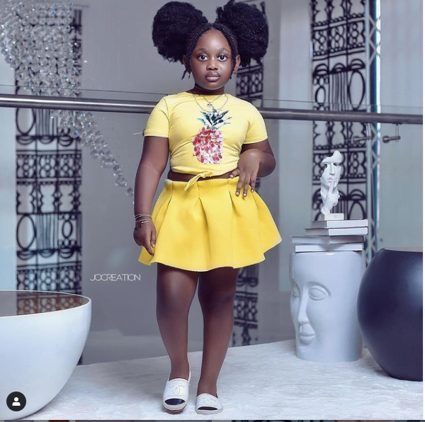 See more photos of the beautiful daughter of Nana Akua Addo