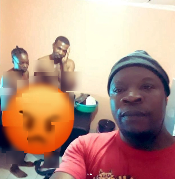 Man takes selfie with his cheating wife and her partner after catching them 'eating' themselves (photo) 2
