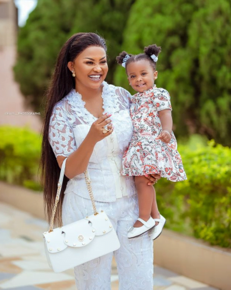 I stayed for 8 months without s3x - Nana Ama Mcbrown speaks about her pregnancy