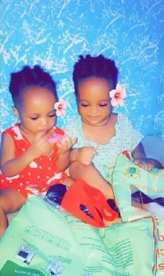 Photos Of The Beautiful Twin Babies Ama Broni, Who Died After Tw3rking N@K3d Left Behind