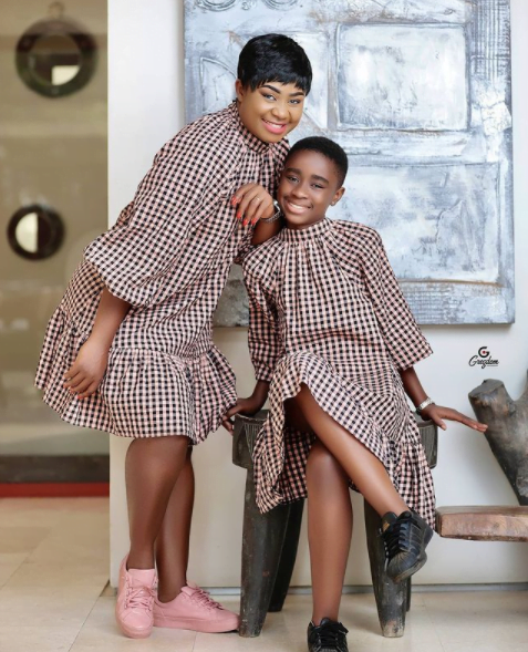 Beautiful photos of Afia Amankwaah Tamakloe's daughter drops as she celebrates her birthday