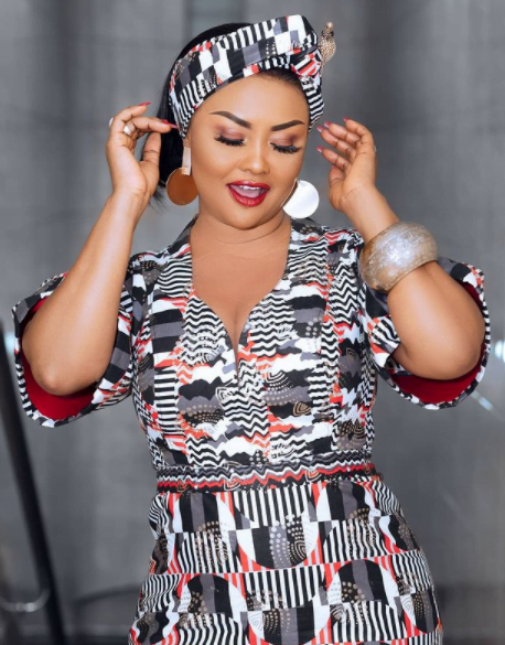 Nana Ama Mcbrown light's up the internet with beautiful and classy photos