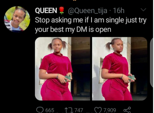 """""""Don't ask me if I am single, Just propose to me"""" - heavily endowed lady tell men. 2"""