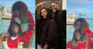 Stonebwoy and wife, Dr. Louisa chills in Jamaica - Video 19