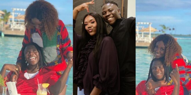 Stonebwoy and wife, Dr. Louisa chills in Jamaica - Video 1
