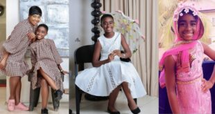 Beautiful photos of Afia Amankwaah Tamakloe's daughter drops as she celebrates her birthday 11